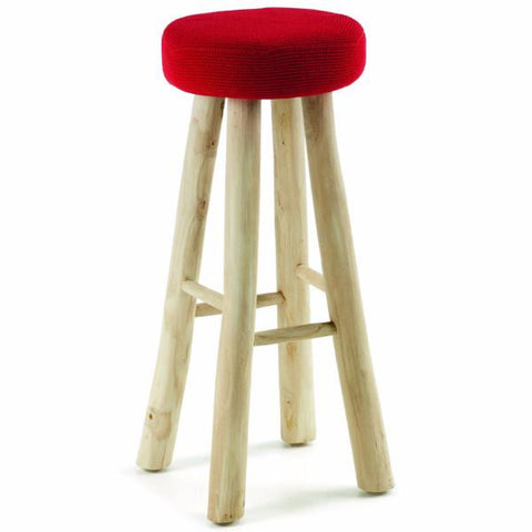 Mallee Mid Red - EC265J04-S - Kitchen Breakfast Bar Stools Kitchen Stool Bar The Stool