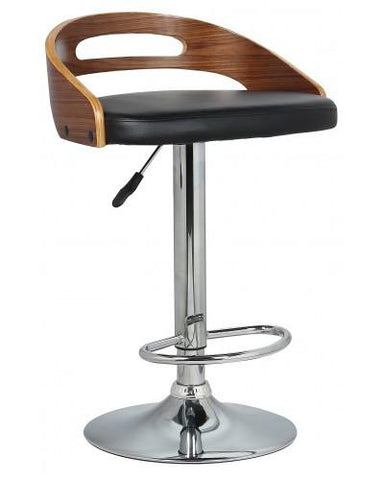 Hanson Gas Lift Bar Stool - Upholstered Bar Stools - JY1939 Adjustable Height Bar The Stool