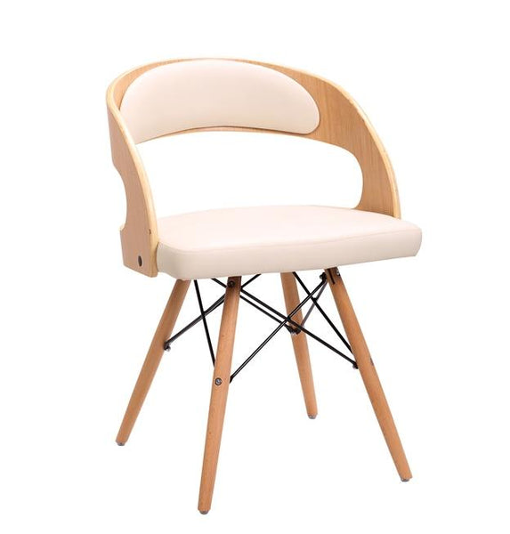 Jawbone Dining Seat - White Dining Chairs - JY091-5 Chair Bar The Stool