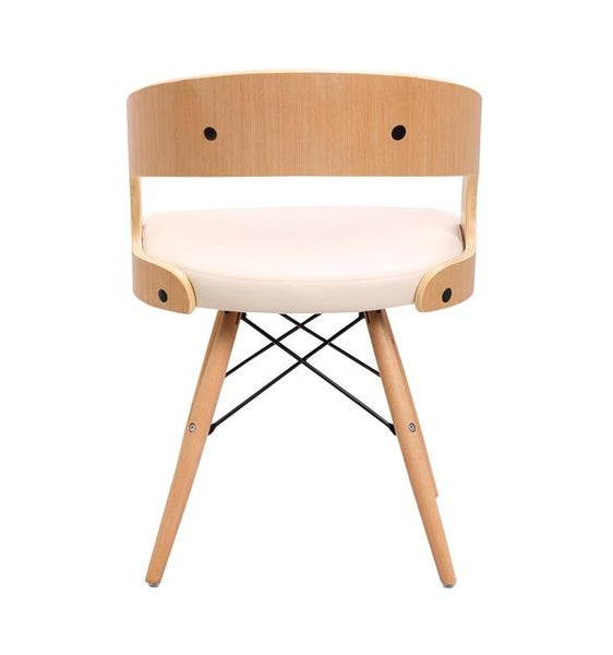 Capsule Oak Dining Chairs - JY1076-2 Chair Bar The Stool