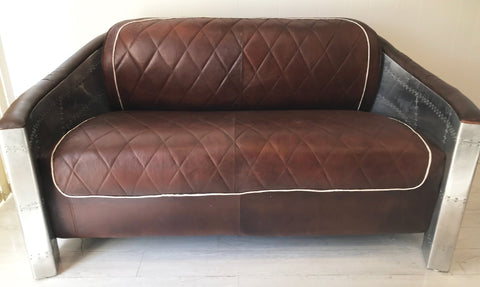 Aviators Lounge Sofa Seat -Unique Furniture - Front