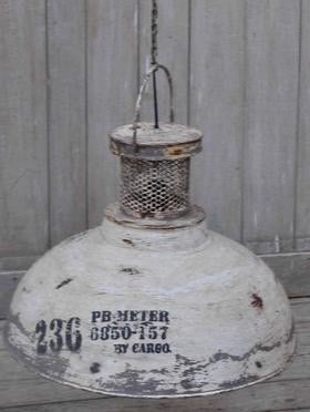 Industrial Hanging Lampshade - Industrial Lighting