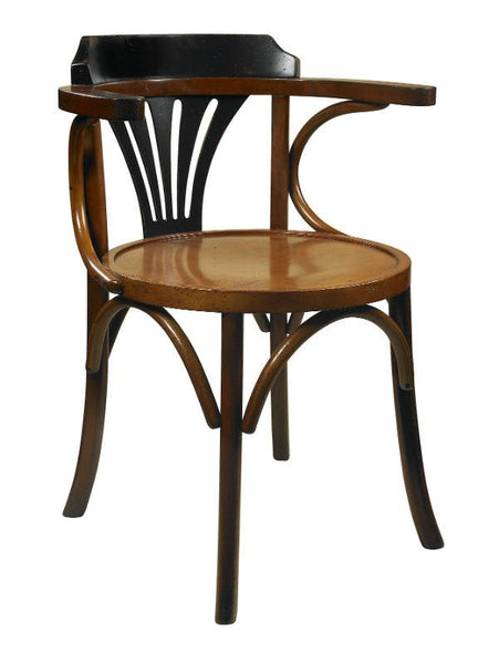 Navy Chair, Black/Honey | Accent Chairs | Wooden Ding Chairs | MF046Z Chairs Bar The Stool