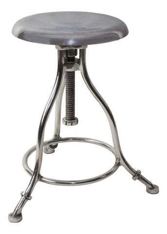 Clockmaker's Stool | Windup Stool | Adjustable Height Stool Kitchen Stool Bar The Stool