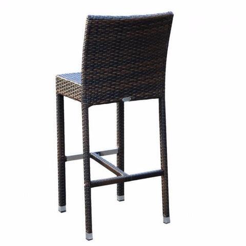 Palm Wicker Bar Stools - pa Bar Stool Bar The Stool