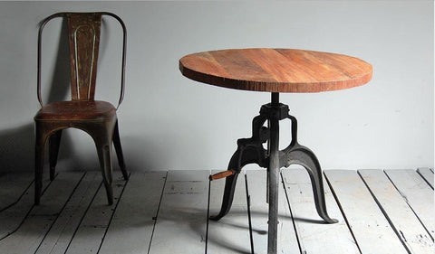 Crank Table - Industrial Furniture