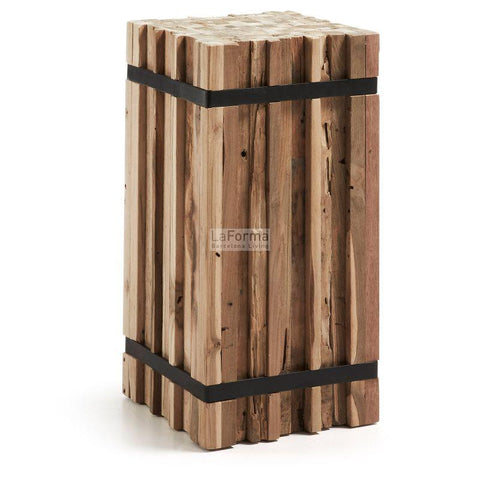 Matchstick Clump - C503M46 - Rustic Side Table Bar Stool Bar The Stool