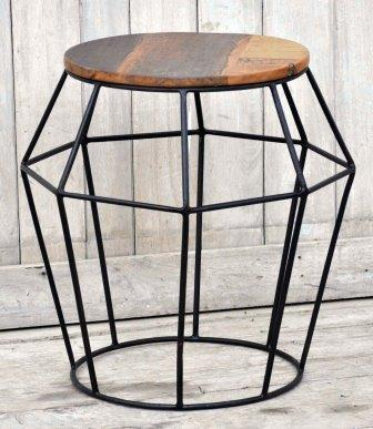 The Oskar - Hardwood Coffee Table - M8179 Furniture Bar The Stool
