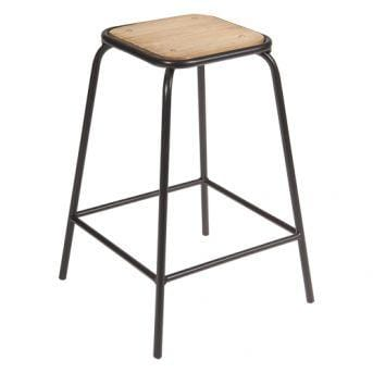 Concept Tube Counter Stool | Black