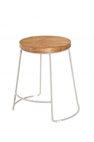 Concept Splay Dining Stool | Cool Grey