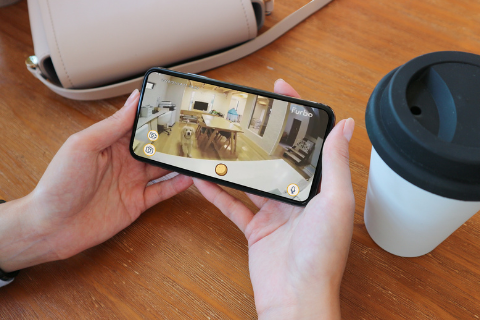 See, talk, and play with your dog remotely with the Furbo Dog Camera