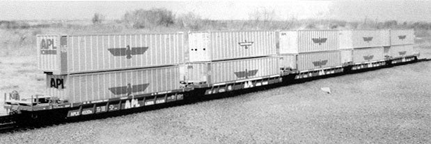 Thrall Double Stack Container Car