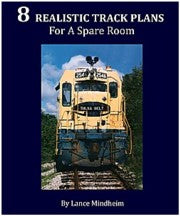 "# LM05 -   ""8 Realistic Track Plans For a Spare Room""            $15.96"