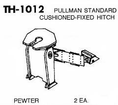 #DW-TH-1012 TRAILER HITCH, P.S. CUSHIONED TYPE  2 EA.