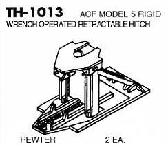 #DW-TH-1013 TRAILER HITCH, ACF MODEL 5 RIGID WRENCH OPERATED, RETRACTABLE HITCH  2 EA.