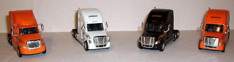 #T-100123    Schneider National - International Orange / Freightliner Cascadia White / Cascadia Black / Cascadia Orange