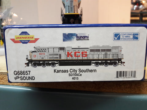 """Athearn Genesis"" Kansas City Southern SD70ACe w/DCC & Sound"