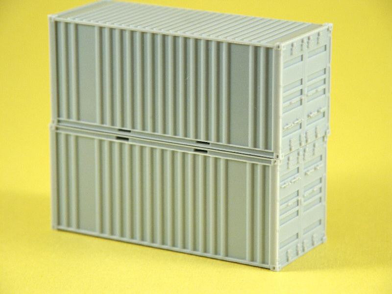 #25510 - 20 ft Corrugated Doors/2 Logo Panel
