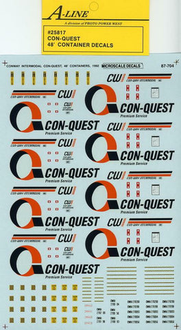 #25817 - Con Quest (White Containers - does 4-48 ft)
