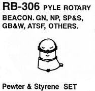 "#DW-RB-306 ""PYLE"" ROTARY BEACON  1 SET"