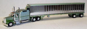 #T-SPT-3250 		Kenworth W900 Tractor w/53 ft Reefer Trler