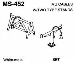#DW-MS-452 MU CABLES W/TWO TYPES STANDS  1 SET