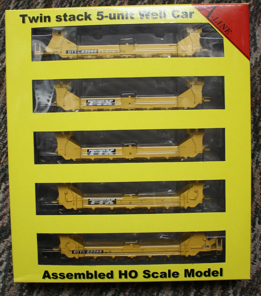 #47601-06 - Twin Stack  Five Unit Car TTX
