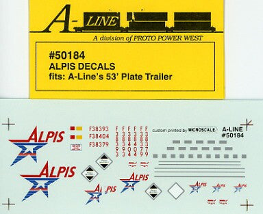 #50184 - 53' Plate Trailer - Alpis
