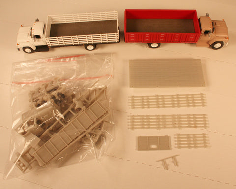 #50604 - HO  Stake and Grain Bed Truck Kit (undecorated)