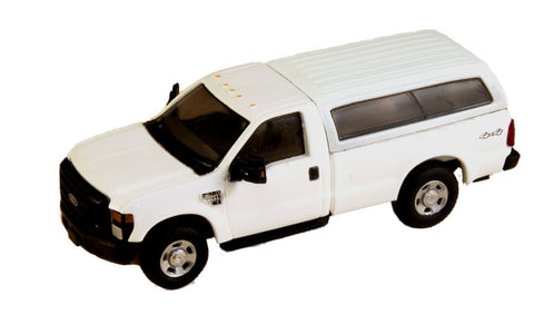 #RPT-5097.01    2008 Ford F-350 XL Regular Cab with Contoured Cap
