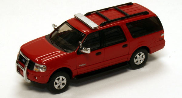 #RPT-7607.10        Ford Exped EL XLT Red Unlettered Emergency Vehicle, Black Trim