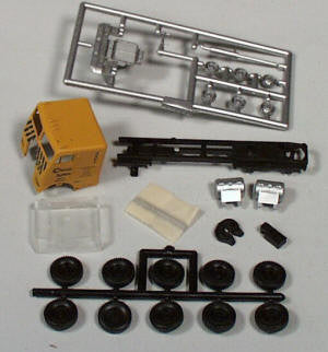 #5507 - HO Freightliner Kit - Chessie  (three axle chassis)