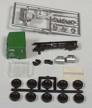 #5508-2A - HO Freightliner Kit - BN  (two axle chassis)