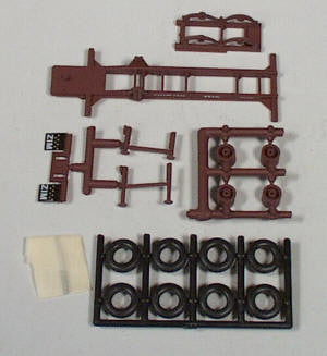 #5777 - ZIM 20' Container Chassis Kit