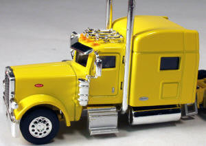 #T-6005 		Peterbilt 389 with 70 in Standard Sleeper Yellow