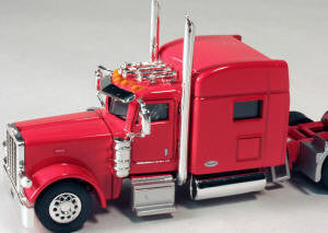 #T-6006 		Peterbilt 389 with 70 in Standard Sleeper Orange