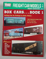 BK123  RAIL MODEL JOURNAL - FREIGHT CAR MODELS  -   Box Cars