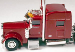 #T-6011 		Peterbilt 389 with 70 in Standard Sleeper Knight Transportation