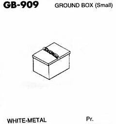 #DW-GB-909 	Ground Box - Small 1 Pr