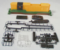 #92014ND 	Front Range GP7 Ph I Body Kit  (Undec) - w/o Dynamic Brakes