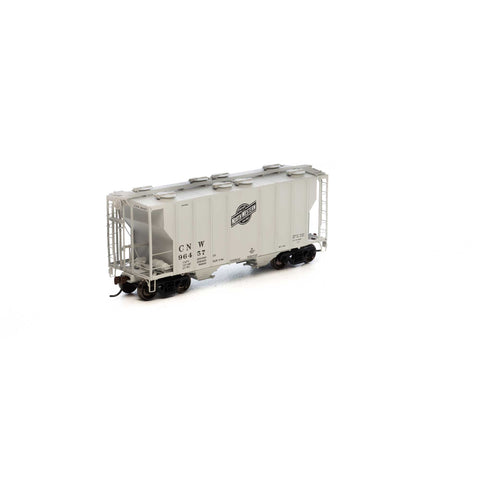 Ath-14560 - HO RTR PS-2 2600 Covered Hopper, C&NW  #96457