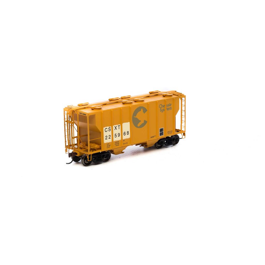 #14568 - HO RTR PS-2 2600 Covered Hopper, CSX #225968