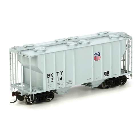 Ath-97328 - HO RTR PS-2 2600 Covered Hopper, UP/BKTY/Gray #1314
