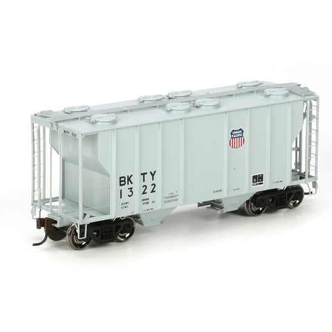 #97329 - HO RTR PS-2 2600 Covered Hopper, UP/BKTY/Gray #1322