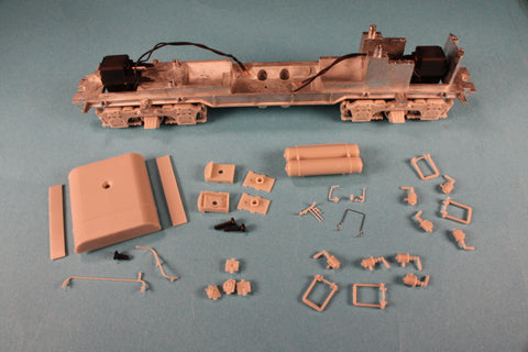 All components included in this complete chassis kit are new Athearn Genesis parts