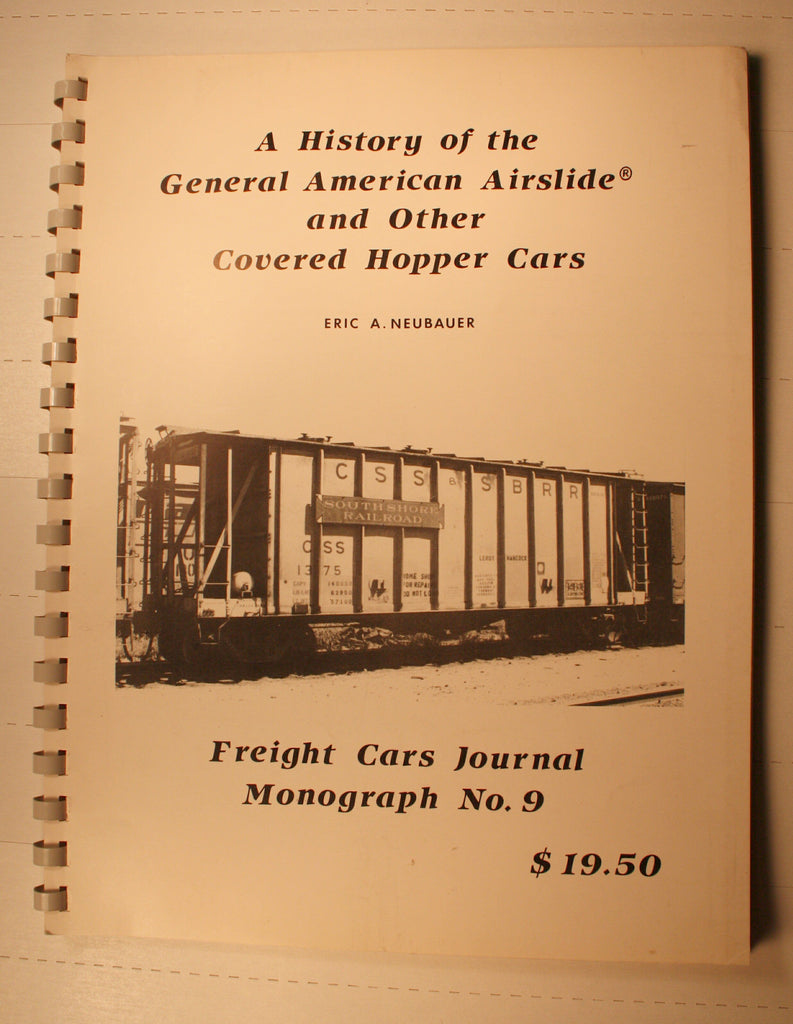 BK143  History of General American Airslides & Other Covered Hoppers