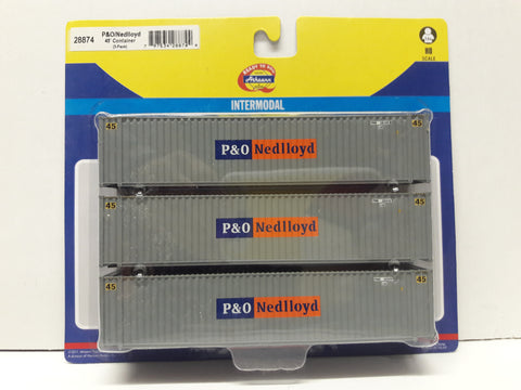 28874 P&O/Nedlloyd 45' Container (3-Pack)