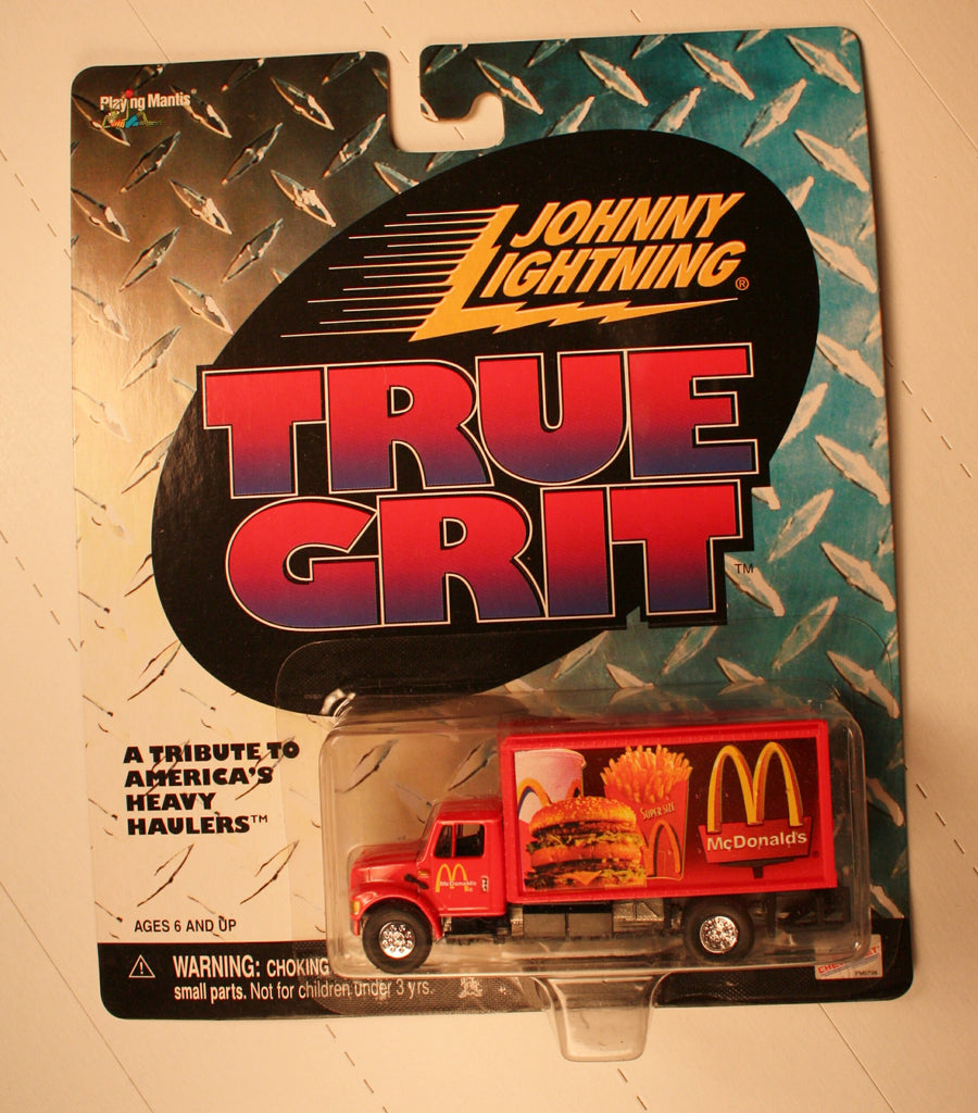 DC-McDonalds  (box van) HO / 1/87 scale
