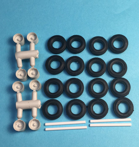 #50003 - Trailer Upgrade Kit (Disc - 8 wheels, 16 tires)