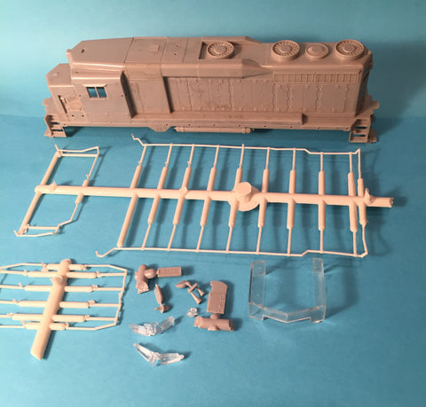 #51103-HR GP30 Shell w/Handrails